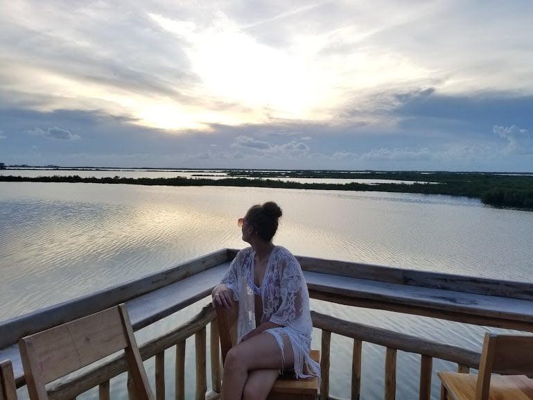 Crocs Sunset Bar-Drift Inn Belize