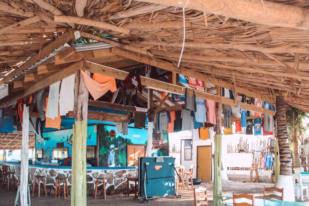 Secret beach Paradise bar
