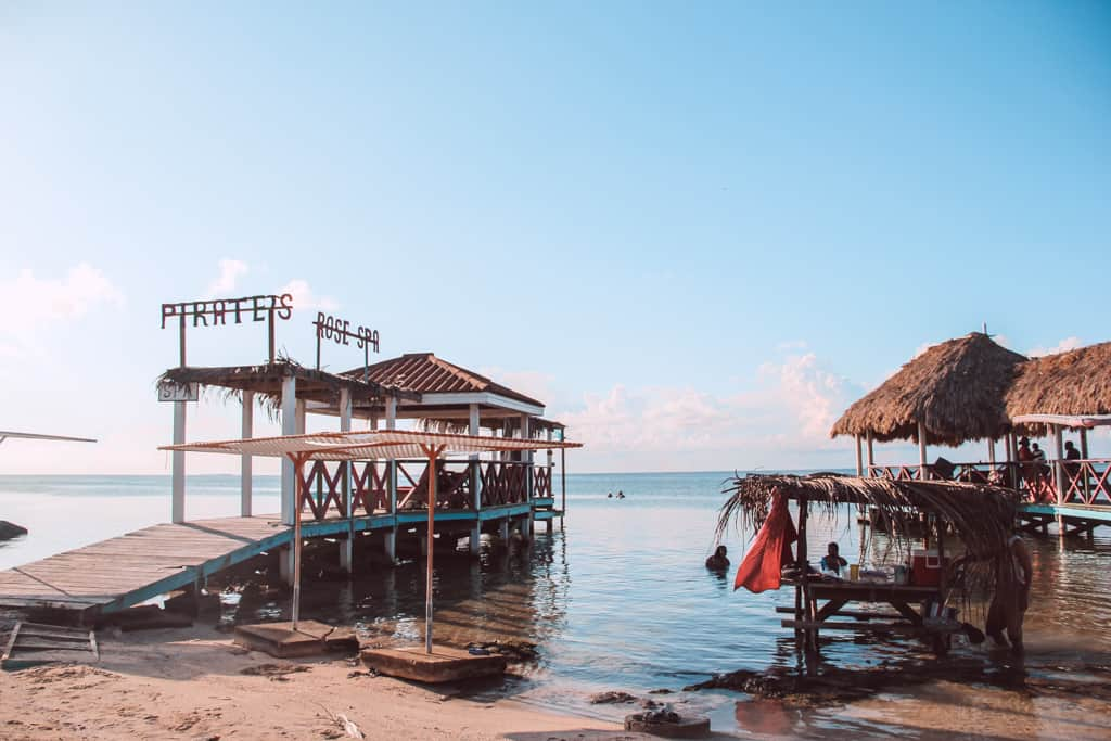 Pirates secret beach bar