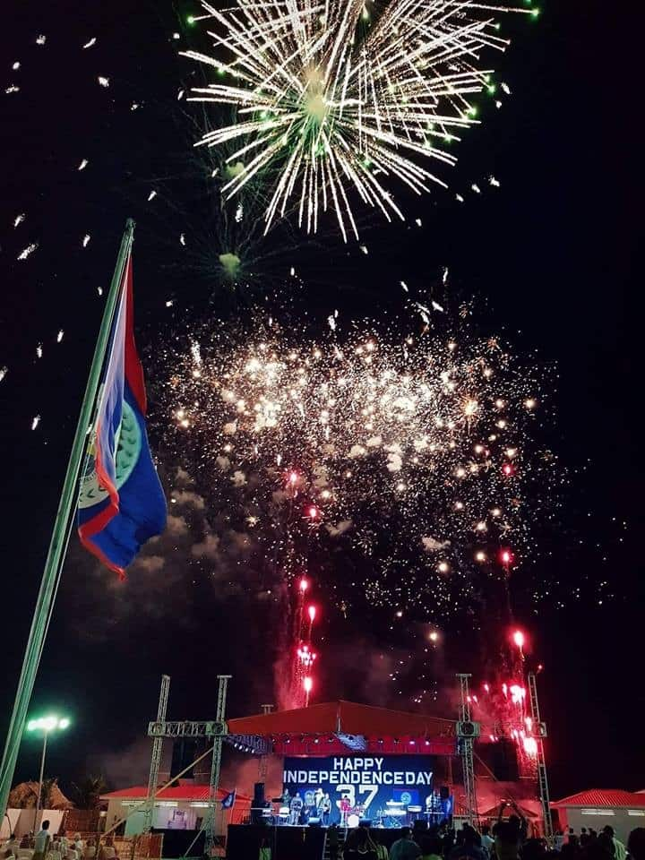Drift Inn -Belize Independence day celebrations.