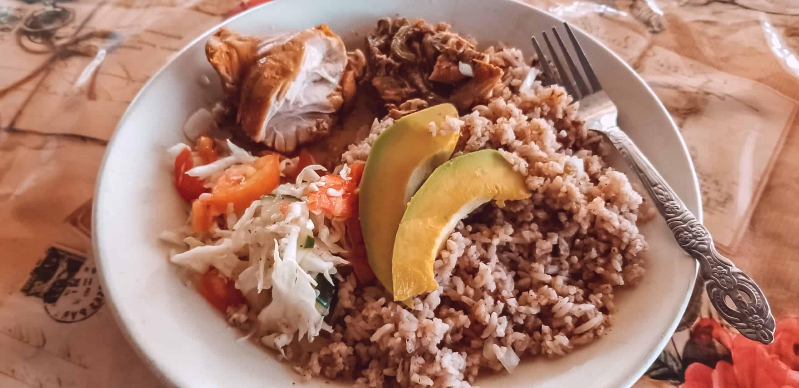 Rice and Beans-Drift Inn BElize