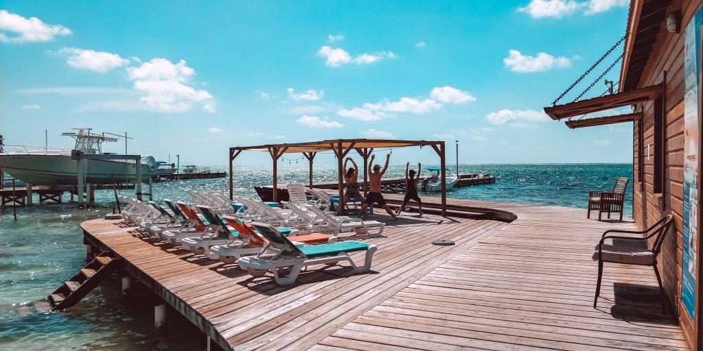 Drift Inn Yoga on Dock