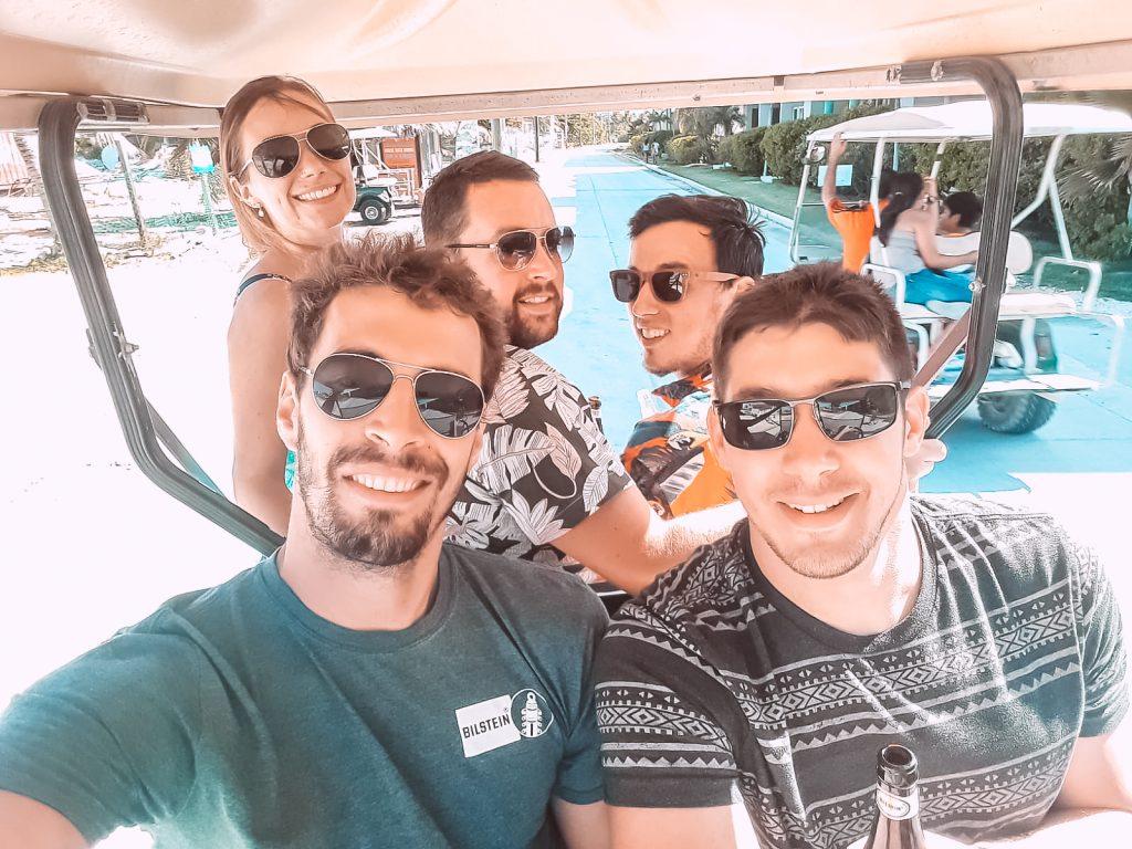 drive-golf-cart-around-san-pedro-drift-inn-belize