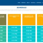 ocean ferry schedule
